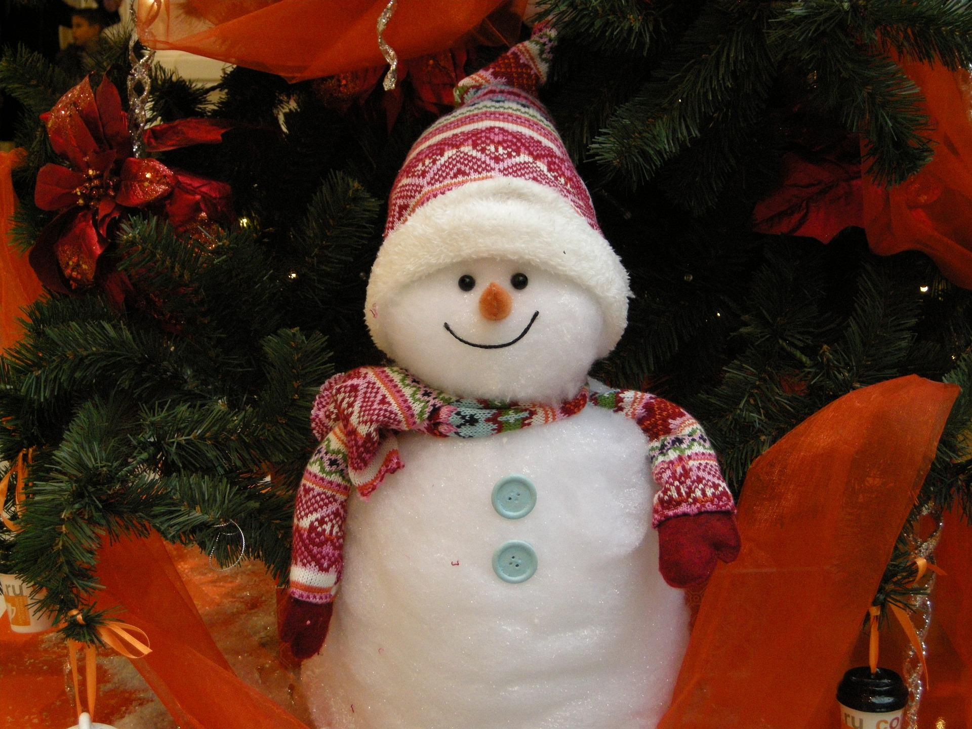 la relaxation du bonhomme de neiges