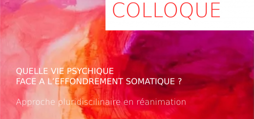 Colloque international Bron juin 2018 - Quelle vie psychique face à l'éffondrement somatique ?